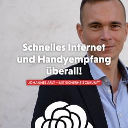 Johannes Arlt setzt sich für eine schnellere Digitalisierung ein.