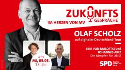Olaf Scholz kommt in unsere Region